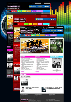 how to make online radio website